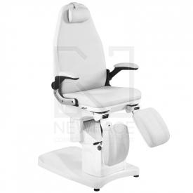 Fotel Podologiczny Elektryczny Azzurro 709A Biały