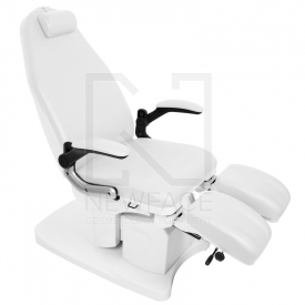 Fotel Podologiczny Elektryczny Azzurro 709A Biały #2