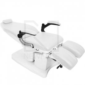 Fotel Podologiczny Elektryczny Azzurro 709A Biały #3
