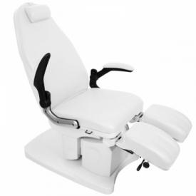 Fotel Podologiczny Elektryczny Azzurro 709A Biały #10