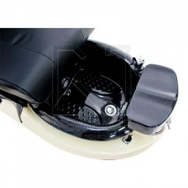 Fotel do pedicure Spa TS1204 Ecru/Black Z Funkcją Masażu #3