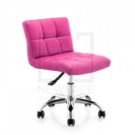 Krzesło Kosmetyczne A-5299 Różowe