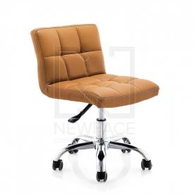 Krzesło Kosmetyczne A-5299 Brązowe