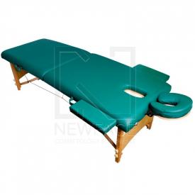 Stół Składany Do Masażu Komfort Wood AT-007R Green