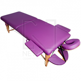 Stół Składany Do Masażu Komfort Wood At 006S-3 Purple