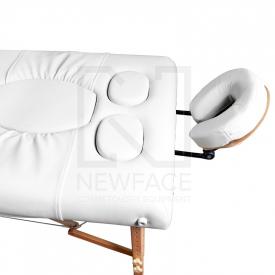 Stół Składany Do Masażu Komfort Wood AW-002 White #3