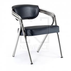 Gabbiano Krzesło Do Poczekalni Q-1145 Czarne