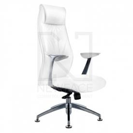 Fotel Kosmetyczny Rico 184 Biały #1