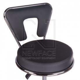 Taboret kosmetyczny BG-823 czarny #2