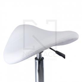 Taboret kosmetyczny BD-9909 Biały #3