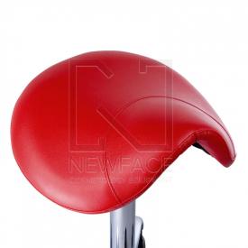 Taboret kosmetyczny BD-9909 Czerwony #2