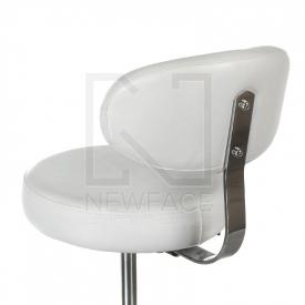 Taboret kosmetyczny z opar. BD-9934 biały #2