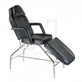 Fotel kosmetyczny BR-3351 Czarny