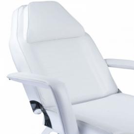 Fotel kosmetyczny z kuwetami BW-262 biały #3