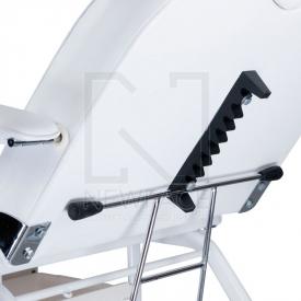 Fotel kosmetyczny z kuwetami BW-262 biały #6