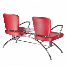 Krzesło do poczekalni LIVIO czerwone BD-6709(1003) #2