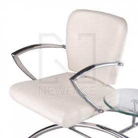 Krzesło do poczekalni LIVIO kremowe BD-6709(1003) #4