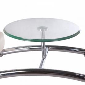 Krzesło do poczekalni LIVIO kremowe BD-6709(1003) #5