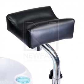 Fotel Do Pedicure Z Masażerem Stóp BW-100 Czarny #5