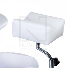Fotel Do Pedicure Z Masażerem Stóp BW-100 Biały #3
