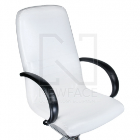 Fotel Do Pedicure Z Masażerem Stóp BW-100 Biały #8