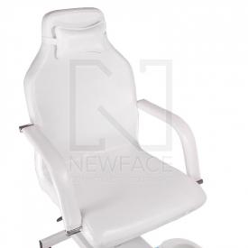 Fotel do pedicure z masażerem stóp BD-5711 biały #2