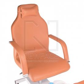 Fotel do pedicure z masażerem stóp BD-5711 beżowy #2