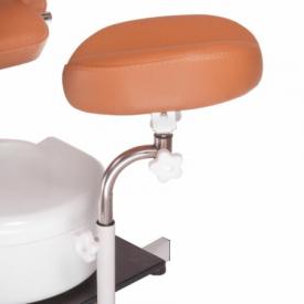 Fotel do pedicure z masażerem stóp BD-5711 beżowy #4