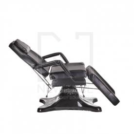 Fotel kosmetyczny hydrauliczny BD-8222 czarny #3