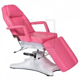 Fotel kosmetyczny hydrauliczny BD-8222 różowy