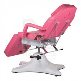 Fotel kosmetyczny hydrauliczny BD-8222 różowy #7