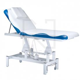 Łóżko do masażu elektryczne BD-8230 biało-niebiesk #2