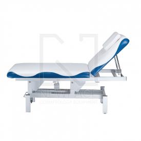 Łóżko do masażu elektryczne BD-8230 biało-niebiesk #3
