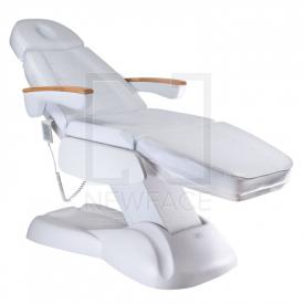 Fotel Kosmetyczny Elektryczny LUX BW-273B Biały #2