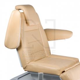 Elektryczny fotel kosmetyczny Bologna BG-228 beż #4