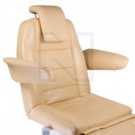 Elektryczny fotel kosmetyczny Bologna BG-228 beż #6