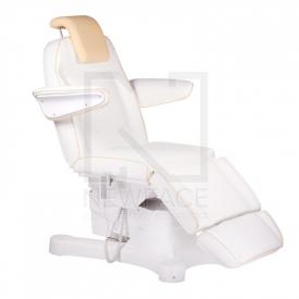 Elektryczny fotel kosmetyczny Napoli BG-207A bialy #1