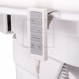 Elektryczny fotel kosmetyczny Napoli BG-207A bialy #4