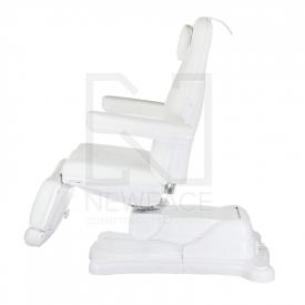 Elektryczny fotel kosmetyczny Mazaro BR-6672B Biał #3