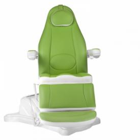 Elektryczny fotel kosmetyczny Mazaro BR-6672 Zielo #3