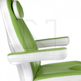 Elektryczny fotel kosmetyczny Mazaro BR-6672 Zielo #5