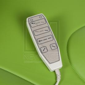 Elektryczny fotel kosmetyczny Mazaro BR-6672 Zielo #10