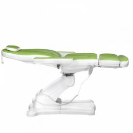 Elektryczny fotel kosmetyczny Mazaro BR-6672 Zielo #14
