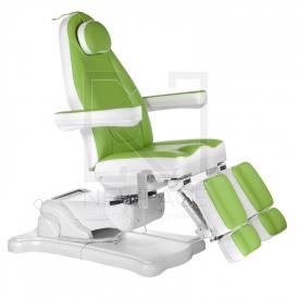 Elektryczny fotel kosmetyczny Mazaro BR-6672A Ziel