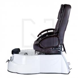 Fotel do pedicure z masażem BR-3820D Brązowy #8