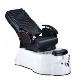 Fotel do pedicure z masażem BR-3820D Czarny #2