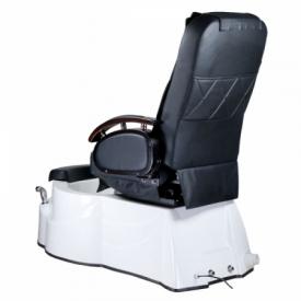 Fotel do pedicure z masażem BR-3820D Czarny #7