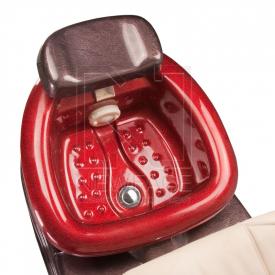 Fotel Pedicure SPA ARUBA BG-920 kremowy #4