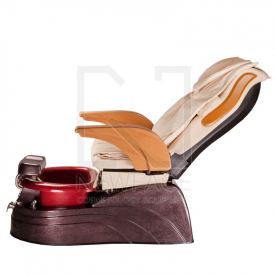 Fotel Pedicure SPA ARUBA BG-920 kremowy #7