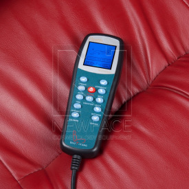 Fotel do pedicure z masażem BR-3820D Bordowy #4